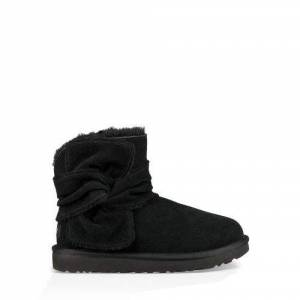 UGG Women's Mini Spill Seam Bow Boot Suede