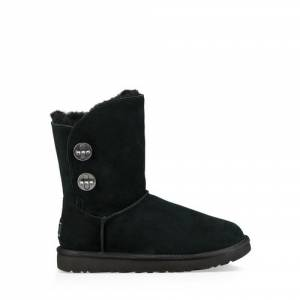 UGG Women's Short Turnlock Bling Boot Suede