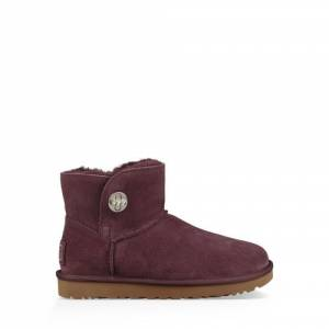 UGG Women's Mini Turnlock Bling Boot Sheepskin