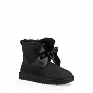 UGG Women's Gita Bow Mini Boot Sheepskin