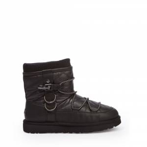 UGG Women's Puff Momma Classic Short Boot Leather