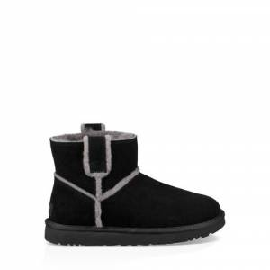 UGG Women's Classic Mini Spill Seam Boot Suede