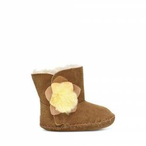 UGG Infants' Cassie Cactus Flower Bootie Suede