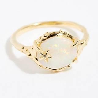"Morgan Patricia Opal Ring ""Coral Reef"""