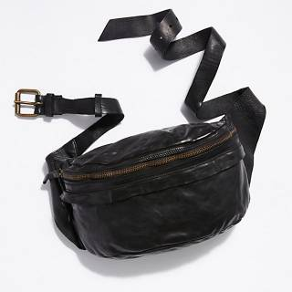 "Campomaggi Belt Bag ""Black Brato"""