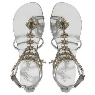 "Giuseppe Zanotti Women's Flat Sandals ""Amira"""