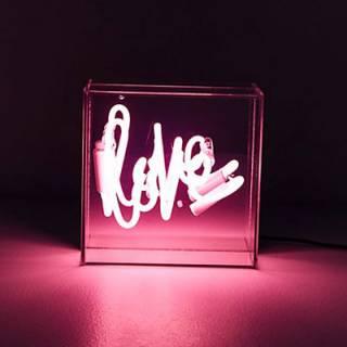 Love Neon Sign Lightbox