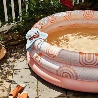 """Minnidip Inflatable Pool """"Sunkissed Terracotta"""""""