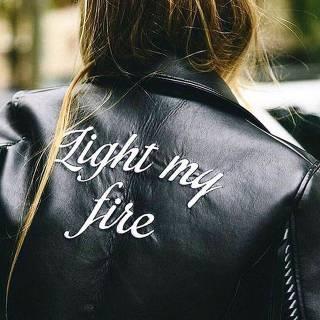 Leather Jacket Attitude
