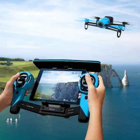 Parrot BeBop Drone 14 MP Full HD 1080p Fisheye Camera SkyController Bundle