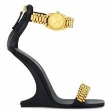 """Giuseppe Zanotti Sandals """"GZXCOWAN"""" Sculpted Heel Shoes"""