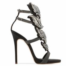 Giuseppe Zanotti Women Sandals CRUEL CRYSTAL Grey