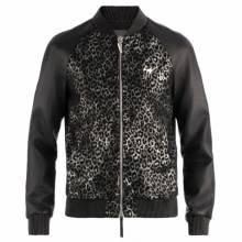 "Giuseppe Zanotti Jacket ""LANCE"" Men's Leather Jackets"