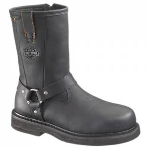 Harley-Davidson - Bill Steel Toe - Men's Boots in Black