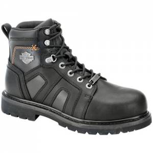 Harley-Davidson - Chad Steel Toe - Men's Boots in Black