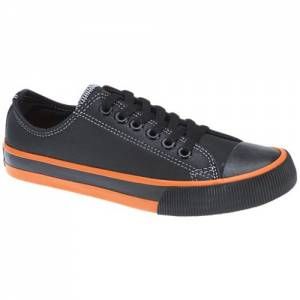 Harley-Davidson - Roarke - Men's Shoes in Black / Orange