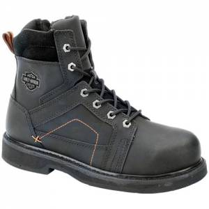 Harley-Davidson - Pete Steel Toe - Men's Boots in Black