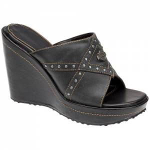 Harley-Davidson - Leawood - Women's Sandals in Smoke