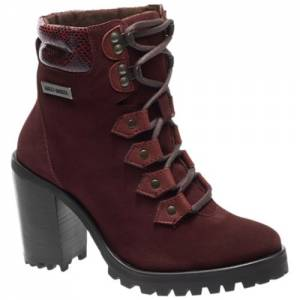 Harley-Davidson - Catterick - Women's Boots in Burgundy
