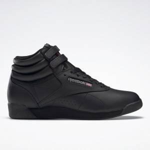 Reebok Freestyle HI Women's Shoes in Black