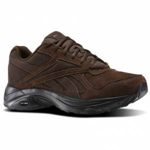 Reebok Walk Ultra V DMX Max RG Men's Walking Shoes in Earth Brown
