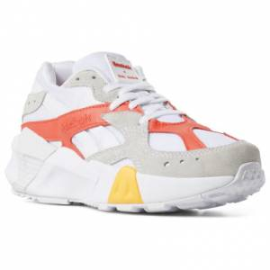 Reebok x Gigi Hadid Aztrek Double Unisex Retro Running Shoes in White