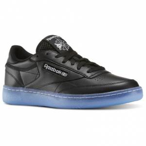 Reebok Club C 85 Ice Men's Court Shoes in Black / White / Ice