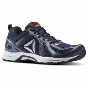 Reebok Runner Men's Running Shoes in Collegiate Navy / Ash Grey / White / Silver