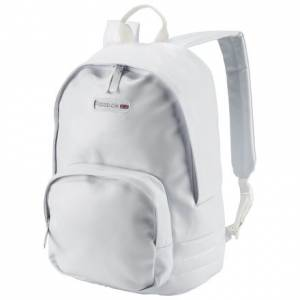 Reebok Classics Unisex Freestyle Backpack in White
