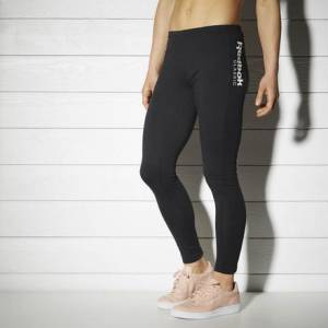Reebok Classic Fitness Legging Women's Casual Leggings in Black