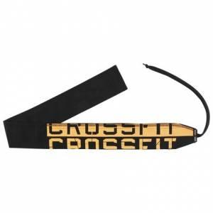 Reebok CrossFit Wrist Unisex Wrap in Black / Fire Spark