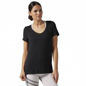 Reebok Favorite Tee Women's Studio T-Shirt in Black