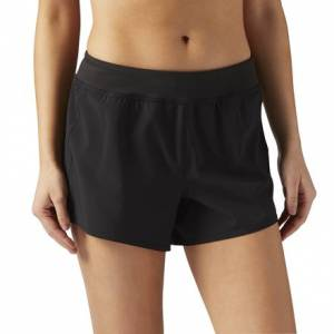 Reebok Woven 4 Inch Short Women's Fitness Training Apparel in Black