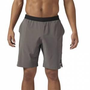Reebok Speedwick Speed Short Men's Fitness Training Apparel in Urban Grey