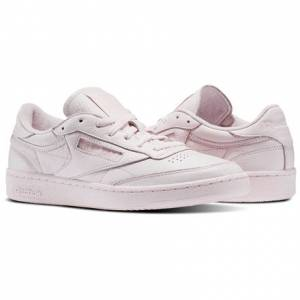 Reebok Club C 85 ELM Men's Court Shoes in Porcelain Pink
