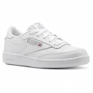 Reebok Club C Kids Tennis, Lifestyle Shoes in White