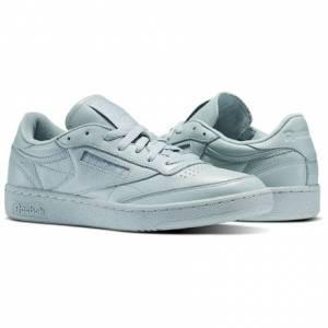 Reebok Club C 85 ELM Men's Court Shoes in Seaside Grey