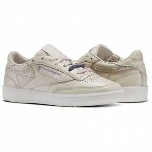 Reebok Club C 85 Women's Court Shoes in Face / Moon White
