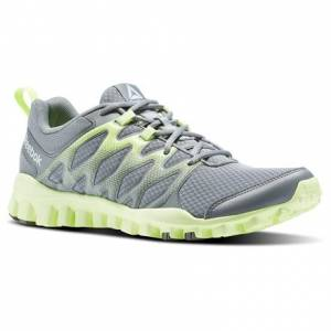 Reebok RealFlex Train 4.0 Men's Training Shoes in Flint Grey / Ironstone / Electric Flash / White