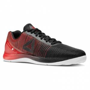 Reebok CrossFit Nano 7 Weave Men's Fitness Training Shoes in Black / White / Primal Red