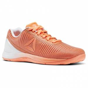 Reebok CrossFit Nano 7 Weave Women's Fitness Training Shoes in Guava Punch / White