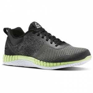 Reebok Print Run Prime Ultraknit Men's Running Shoes in Irontstone / Black / Electric Flash / White / Pewter