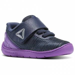 Reebok CrossFit Nano 7 - Infant & Toddler Training Shoes in Vicious Violet / Smoky Indigo / White / Silver