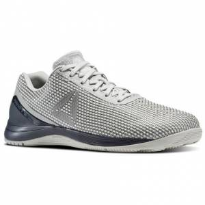 Reebok CrossFit Nano 7 Men's Training Shoes in Skull Grey / Collegiate Navy / Silver Met