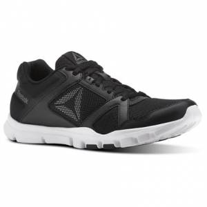 Reebok Yourflex Train 10 MT Men's Training Shoes in Black / White / Alloy