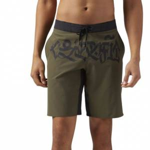 Reebok CrossFit Super Nasty Men's Training Short in Army Green