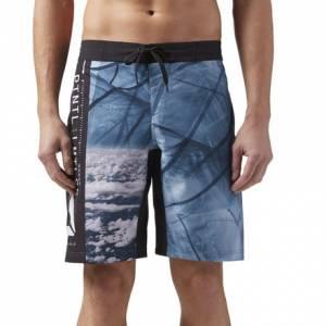 Reebok Epic Lightweight Men's Training Shorts in Black / Blue