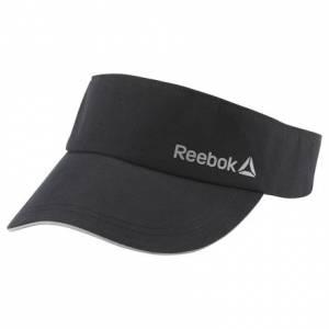 Reebok Unisex Running Performance Visor in Black