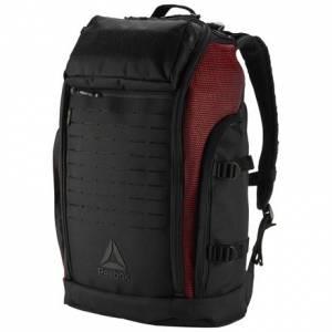 Reebok CrossFit Unisex Training Backpack in Black / Primal Red