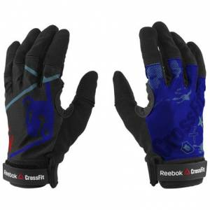Reebok CrossFit Men's Training Gloves in Acid Blue